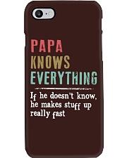 PAPA knows everything Phone Case thumbnail