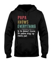 PAPA knows everything Hooded Sweatshirt thumbnail