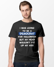 I WAS GOING TO BE A DEMOCRAT for Halloween Classic T-Shirt lifestyle-mens-crewneck-front-15
