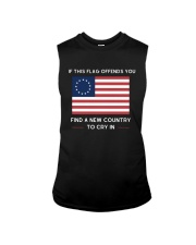 Find A New Country to Cry In Sleeveless Tee thumbnail