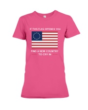 Find A New Country to Cry In Premium Fit Ladies Tee thumbnail