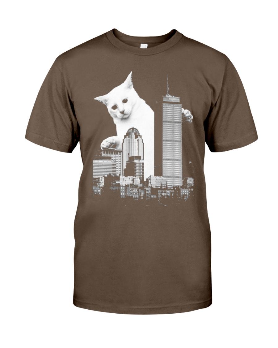 5 CATZILLA BOSTON Classic T-Shirt