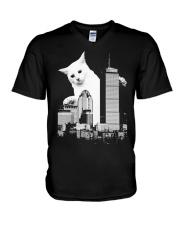 5 CATZILLA BOSTON V-Neck T-Shirt thumbnail