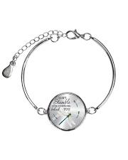 Over Something Behind You Metallic Circle Bracelet thumbnail
