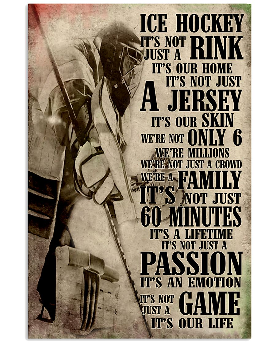 Ice Hockey 11x17 Poster