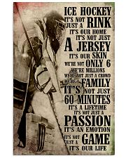 Ice Hockey 11x17 Poster front
