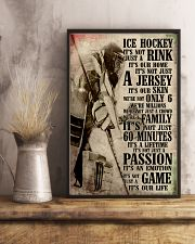 Ice Hockey 11x17 Poster lifestyle-poster-3