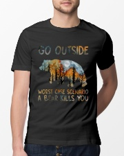 Go Outside Classic T-Shirt lifestyle-mens-crewneck-front-13