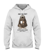 Am I Slow Hooded Sweatshirt tile