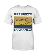 Respect A Chancla Premium Fit Mens Tee thumbnail