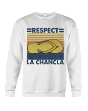 Respect A Chancla Crewneck Sweatshirt thumbnail