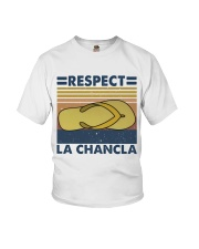 Respect A Chancla Youth T-Shirt thumbnail