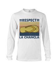 Respect A Chancla Long Sleeve Tee thumbnail
