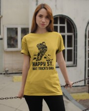 Happy ST Hat Trick's Day Classic T-Shirt apparel-classic-tshirt-lifestyle-19