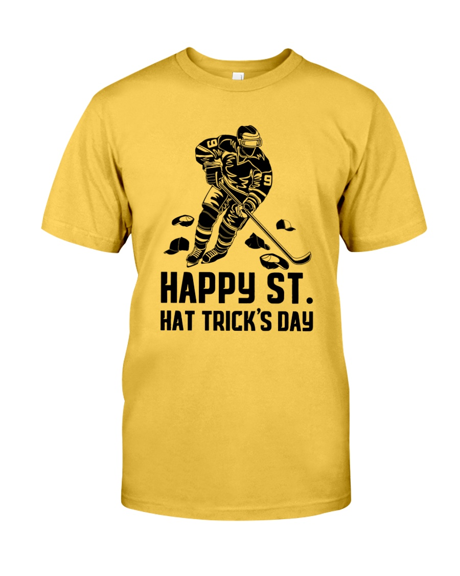 Happy ST Hat Trick's Day Classic T-Shirt