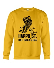 Happy ST Hat Trick's Day Crewneck Sweatshirt thumbnail