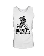 Happy ST Hat Trick's Day Unisex Tank thumbnail