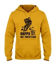 Happy ST Hat Trick's Day Hooded Sweatshirt thumbnail