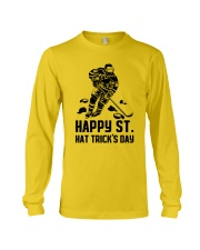 Happy ST Hat Trick's Day Long Sleeve Tee thumbnail