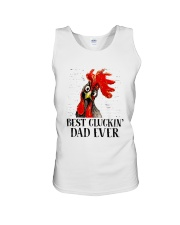 Best Clukin Dad Ever Unisex Tank thumbnail