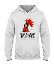Best Clukin Dad Ever Hooded Sweatshirt thumbnail