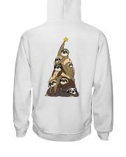 Love Sloth Hooded Sweatshirt back