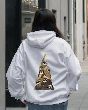 Love Sloth Hooded Sweatshirt lifestyle-unisex-hoodie-back-2