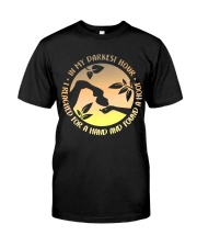 I Reached For A Hand Classic T-Shirt front