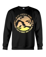 I Reached For A Hand Crewneck Sweatshirt thumbnail