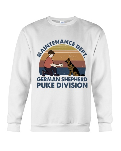 German Shepherd Puke Division