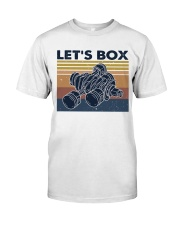 Let's Box Classic T-Shirt front