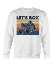 Let's Box Crewneck Sweatshirt thumbnail