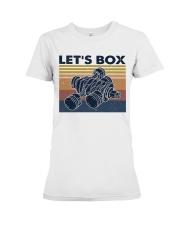 Let's Box Premium Fit Ladies Tee thumbnail