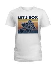 Let's Box Ladies T-Shirt thumbnail