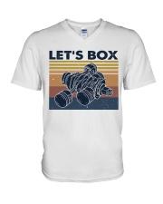 Let's Box V-Neck T-Shirt thumbnail