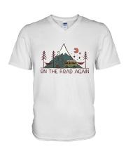 On The Road Again V-Neck T-Shirt thumbnail