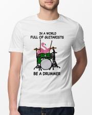 Be A Drummer Classic T-Shirt lifestyle-mens-crewneck-front-13