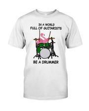 Be A Drummer Premium Fit Mens Tee thumbnail