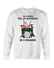 Be A Drummer Crewneck Sweatshirt thumbnail