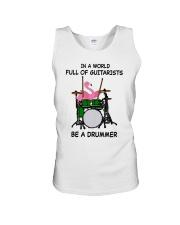 Be A Drummer Unisex Tank thumbnail