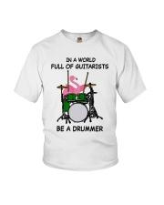 Be A Drummer Youth T-Shirt thumbnail