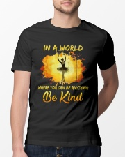 Be Kind In A World Classic T-Shirt lifestyle-mens-crewneck-front-13