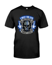 I Hunt The Evil Police Premium Fit Mens Tee thumbnail