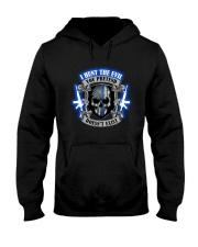 I Hunt The Evil Police Hooded Sweatshirt thumbnail