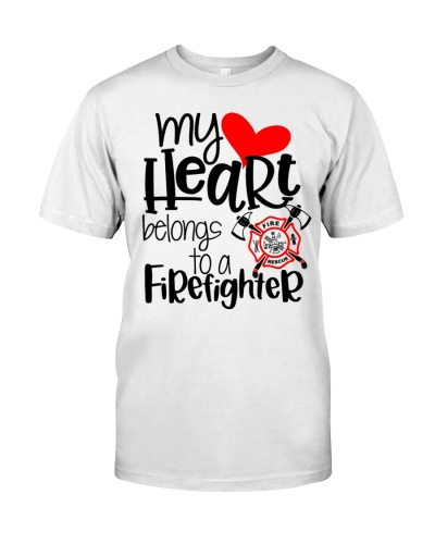 My Heart Belong To A Firefighter
