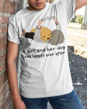 A Girl And Her Dog Classic T-Shirt apparel-classic-tshirt-lifestyle-27