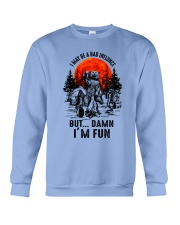 I May Be A Bad Influnce Crewneck Sweatshirt thumbnail
