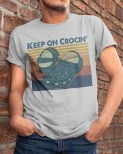 Keep On Crocin Classic T-Shirt apparel-classic-tshirt-lifestyle-26
