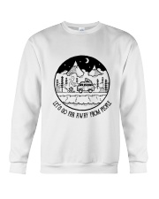 Lets Go Far Away From People 5 Crewneck Sweatshirt thumbnail