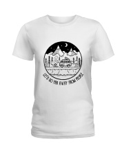 Lets Go Far Away From People 5 Ladies T-Shirt thumbnail